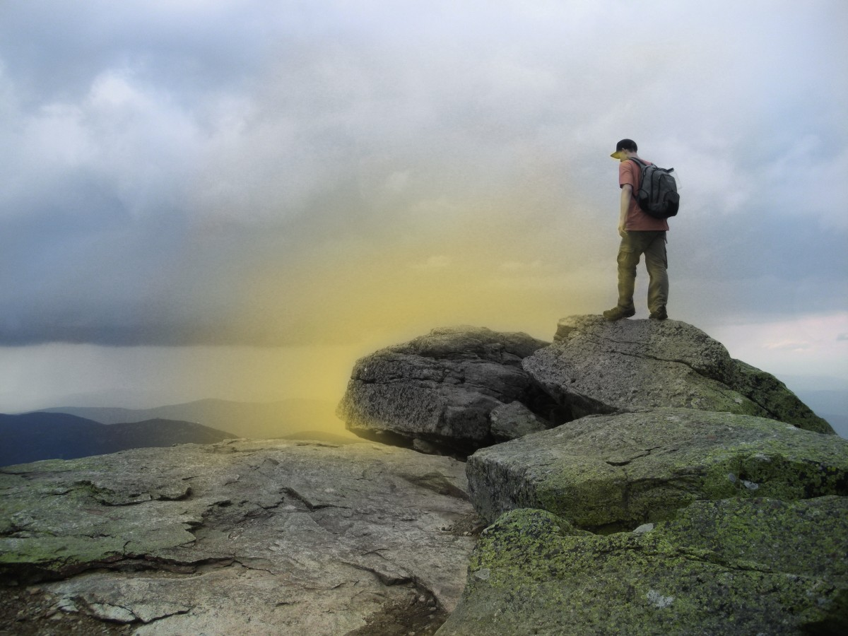 Glow Beyond The Rocks
