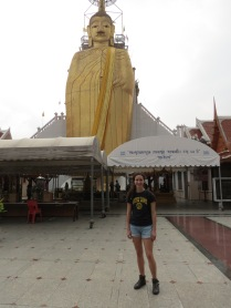 The famous standing buddha
